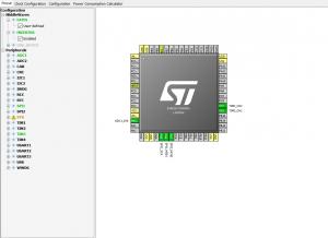 STM32CubeMx_pinout